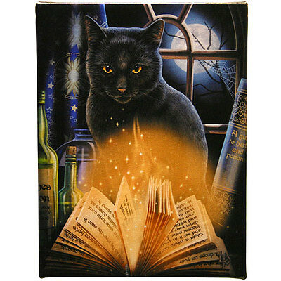 Fantasy Gothic Art Canvas Wall Plaque~Bewitched~by Lisa Parker~uk seller