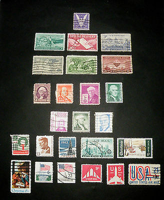 Vintage Collectable Stamps Lot of 132  US Australia Germany More