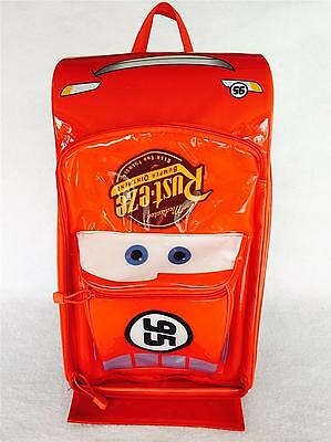 DISNEY PIXAR CARS Lightning McQueen Overnight Rolling Luggage Suitcase