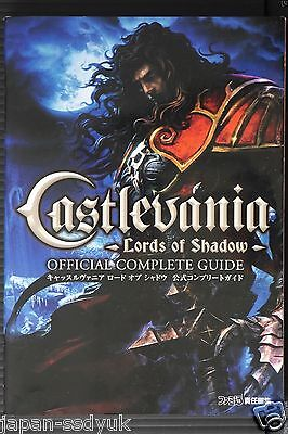 JAPAN Castlevania: Lords of Shadow Official Complete Guide