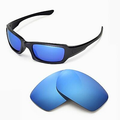 New WL Polarized Ice Blue Replacement Lenses For Oakley Fives Squared Sunglass