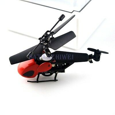 AVATAR Z008 2.5CH 2.4G Metal RC Remote Control Helicopter LED Light GYRO RTF