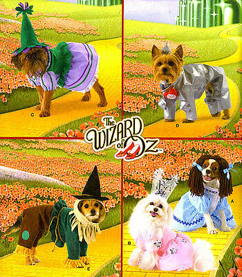 SEW PATTERN S2548 WIZARD OF OZ DOG COSTUMES DRESS HAT OUTFITS XS TO M RARE OOP