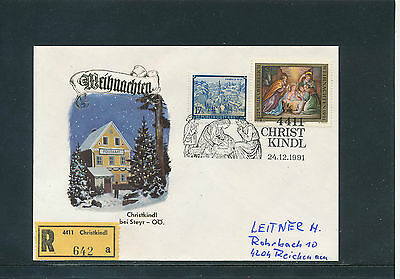 Christkindl-Reco-Brief  24.12.1991   24/3/15