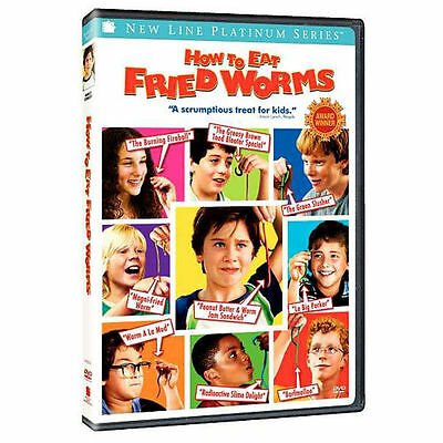How to Eat Fried Worms (DVD, 2006) Platinum Series Kid Movie Comedy Rated PG