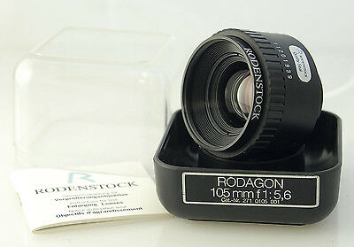 Rodenstock Rodagon 105mm f5.6 Enlarging lens for upto 6x9, Excellent condition