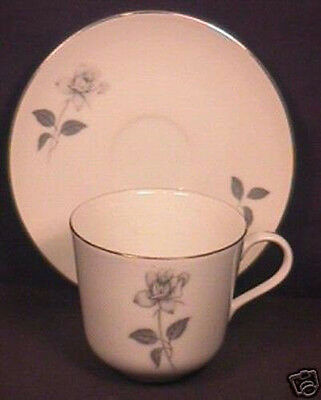 Queens Royal Rose Rosebud Pattern Cup and Saucer