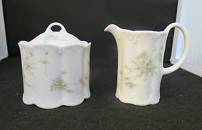 Rosenthal Classic Rose Catherine Sugar & Creamer - Excellent Condition!