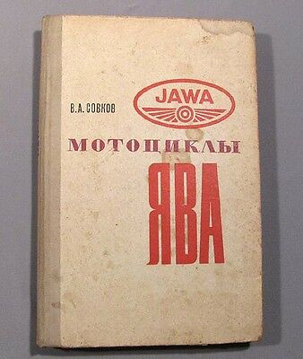 Book Motorcycle Java Jawa Russian Repair Old Vintage Soviet Bike Manual Chopper