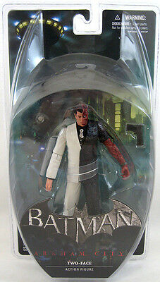 DC COLLECTIBLES 2014 BATMAN ARKHAM CITY TWO-FACE Sealed Package MIMP In Stock