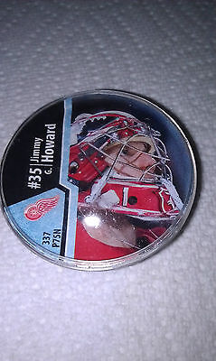 2012 NHL Roxx - Jimmy Howard - Cage Masters Rare R2 Detroit Red Wings
