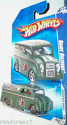 HOT WHEELS 2009 MODIFIED RIDES 1/64 GREEN DAIRY DELIVERY #02/10 REDLINE RACING