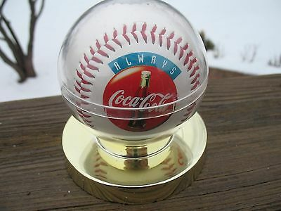 ALWAYS COCA COLA VTG. BASEBALL FOR RED HOT SUMMER 1994 PROMO IN GOLD PLATED DSPL