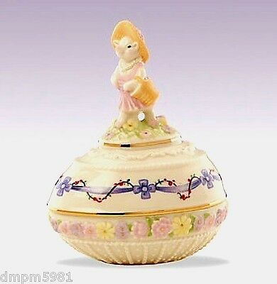 Lenox 2012 Annual Little Piggy Easter Egg Box with PIG NEW IN BOX!