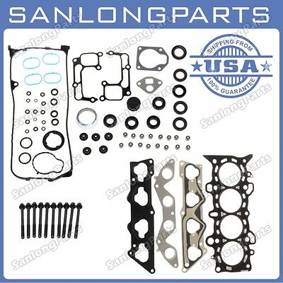 Fits 01-05 1.7L Honda Civic Vtec EX HX SI MLS D17A2 D17A6 Head Gasket with Bolts