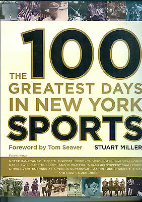 Miller, The 100 Greatest Days in New York Sports,Folio,2006,1st,VG in VG DJ many