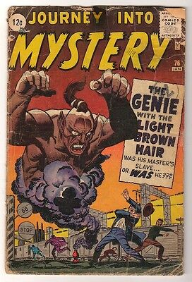 Marvel Comics G PRE THOR #76 GENE WITH LIGHT BROWN  Journey into mystery
