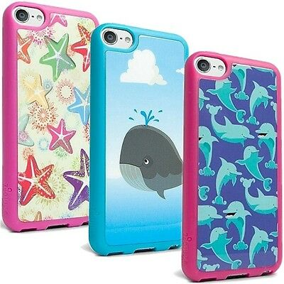 (Lot of 3 New) iFrogz MIX Case for Apple iPod Touch 5G - Starfish Whale Dolphin