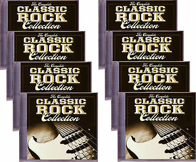 Complete CLASSIC ROCK Collection Rare 8 CD Set Various 70s & 80s New Sealed