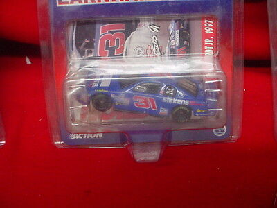 DALE EARNHARDT JR  # 31 BLUE SIKKENS CAR REFININSHES  1/64 SCALE