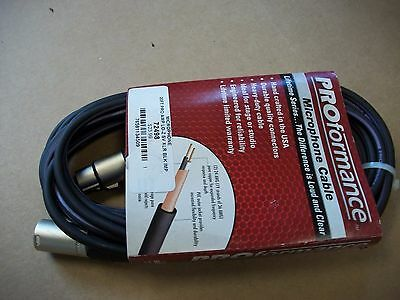 Lo-Z XLR MICROPHONE CABLE 20 ft 3 pin, XLR Male to XLR Female  MADE IN USA