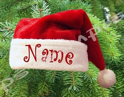 SANTA HAT Christmas Fridge MAGNET - Personalized for Free