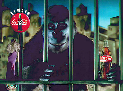 "Coca-Cola ""The Choice"" Advertising Cel King Kong Art Gorilla Commercial"