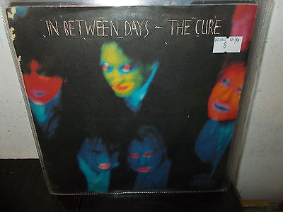 """THE CURE In between days/The exploding boy  7"""" EX-/EX- GER"""