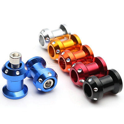 New 6 Color Select 8MM CNC Motorcycle Swingarm Sliders Spools For Honda Year all