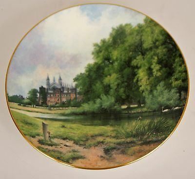 "COALPORT 7 3/4"" COLLECTORS PLATE ENGLISH MASTERPIECES WATTS EATON COLLEGE"