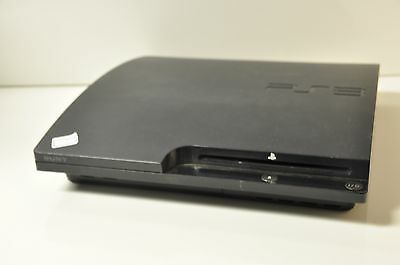 As is Sony PS3 Slim 120gb Console (Damaged USB ports) #07