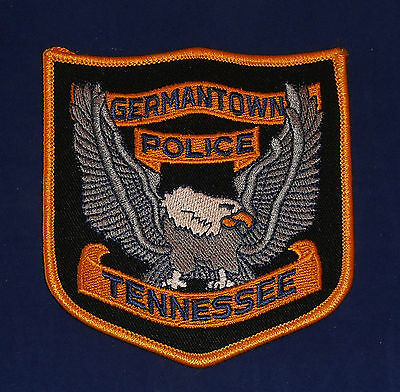 Germantown, Tennessee Police Shoulder Patch (invp1884)