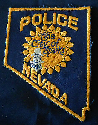 The City of Sparks, Nevada Police Shoulder Patch (invp306)