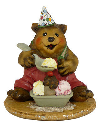 PARTY TIME by Wee Forest Folk, WFF# BB-7, Birthday Bear