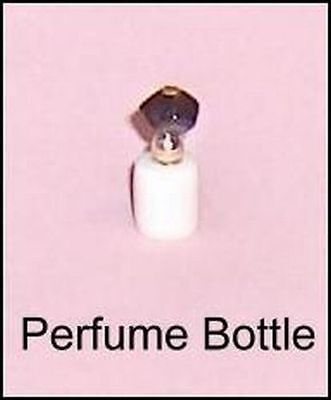 White Color Perfume Bottle Ideal Petite Princess Dollhouse Furniture Accessory