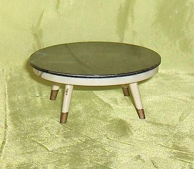 Occasional  Table  Round Black  Ideal Petite Princess Dollhouse Furniture