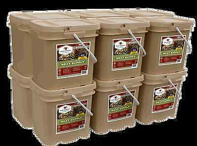 720 Serving Wise Freeze Dried Meat emergency long term food survival 15 yr life