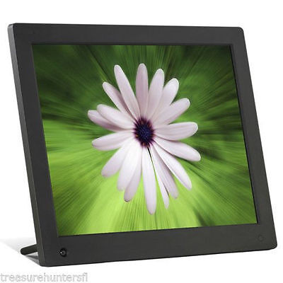 "NIX 15"" Digital Photo Picture Frame Video Music Player Home Office Desk Family"