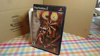 ICO PlayStation 2 PS2 Complete black label version clean Rare +Free