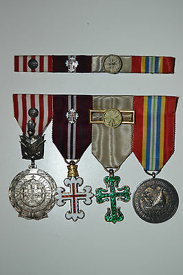 Portugal Group of Medals and ribbons