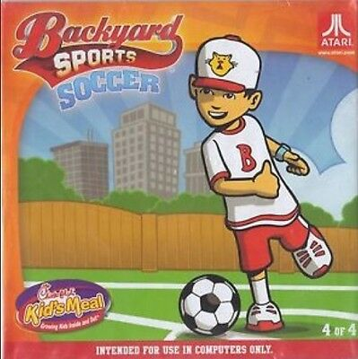 Backyard Sports Soccer PC 2012 new CD from Humongous Chick-Fil-A