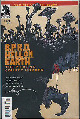 B.P.R.D HELL ON EARTH THE PICKEN COUNTY HORROR #2 SIGNED BECKY CLOONAN #3873