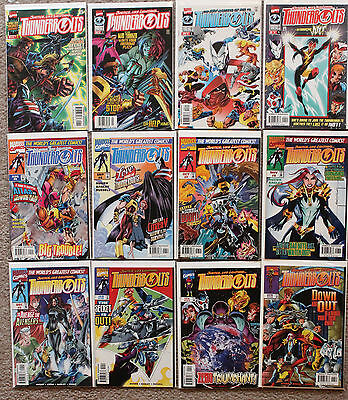 Thunderbolts comic lot #1-11, 13-80, 82-138