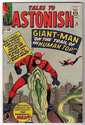Marvel TALES TO ASTONISH 55  HULK ANT-MAN Pym GIANT MAN AVENGERS VFN 8.0