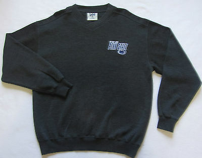 Penn State Nittany Lions Men's LS V-Neck Embroidered Sweatshirt by Lee Sport - M