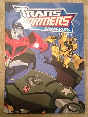 Transformers Animated Lot of 4 Graphic Novels Volumes 1-4