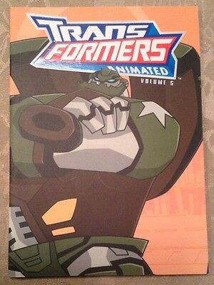 Transformers Animated Lot of 4 Graphic Novels Volumes 5-7, 9