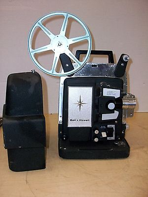 Vintage Bell & Howell Lumina 12 8mm Film Projector Auto Load w Reel Repair