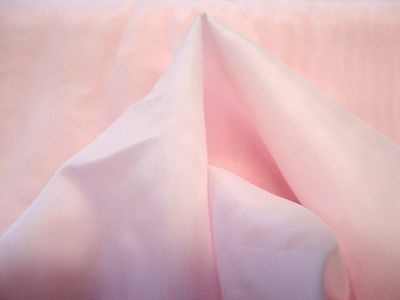 """Non Glitter ORGANZA FABRIC lt pink solid bridal evening chairs 18 yards x 45"""""""