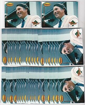 Lot of 50 1993 Ted Williams Company BROOKS ROBINSON Collection #BR2 Insert Cards
